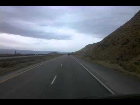 BigRigTravels Archived Video - Rolling into Grand Junction, Colorado Interstate 70 West