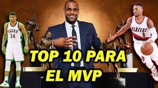 ASÍ ESTÁ LA CARRERA PARA EL MVP DE LA NBA 2018/19