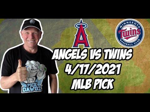 Los Angeles Angels vs Minnesota Twins 4/17/21 MLB Pick and Prediction MLB Tips Betting Pick