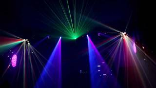 Video Laser Light Show (X-Laser Caliente, ADJ Royal 3D) 2 download MP3, 3GP, MP4, WEBM, AVI, FLV Agustus 2018