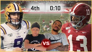 NCAA 20 College Football - Who's The True Heisman?! Tua vs Burrow In A Shootout!