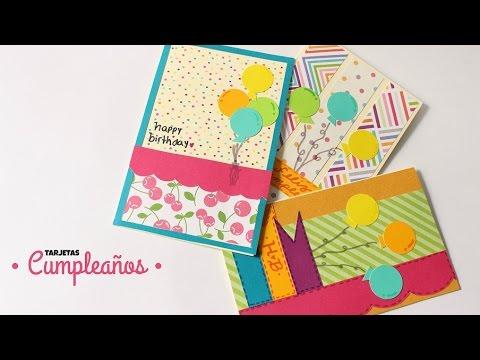 Como hacer cartas tarjetas de cumplea os f ciles y for Hacer tarjeta cumpleanos