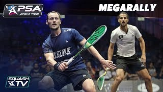 """Wow, it's incredible movement!"" - Squash MegaRally - Gaultier v Hesham"