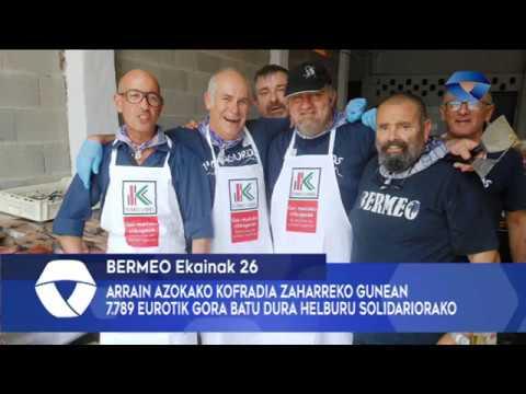 7789 eurotik gora batu dira Kofradia Zaharreko gunean helburu solidariorako