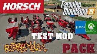 Farming Simulator 2019 - ITA - Horsch Pack - TEST MOD (PS4/XBOX/PC)