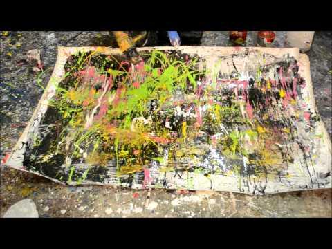 Painting to Harlem Shake