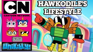 Unikitty! | Hawkodile's Lifestyle | Cartoon Network UK