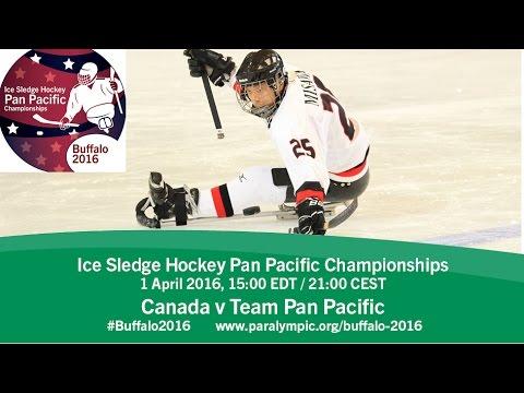 Canada v Team Pan Pacific | Prelim | 2016 Ice Sledge Hockey Pan Pacific Championships, Buffalo
