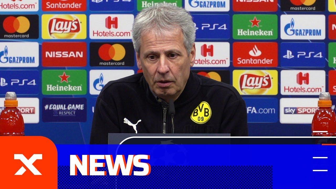 Lucien Favre: Haben das Achtelfinale in London verloren | Borussia Dortmund - Tottenham Hotspur 0:1
