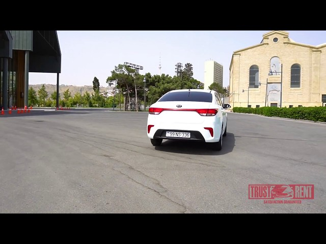Kia Rio / Rental cars in Baku from TRUST RENT a car Baku