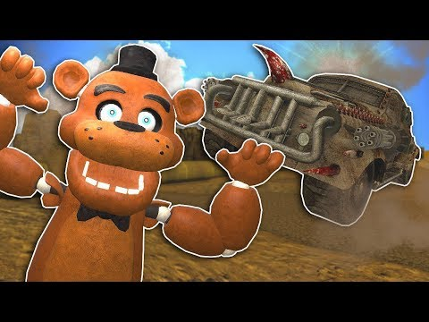 MAD MAX APOCALYPSE RACE! - Gmod Multiplayer Gameplay - Death Race Survival