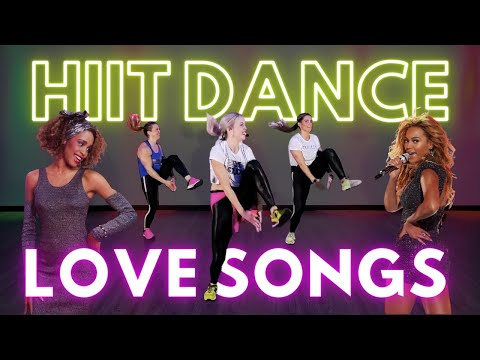 Valentine's HIIT Dance Fitness | 30 Minute Full Body Workout to the Greatest Love Songs Eva