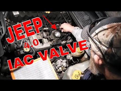 HOW TO CLEAN A JEEP  IAC VALVE