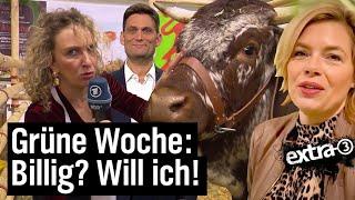 Grüne Woche: Billig, billiger, Schweinefleisch