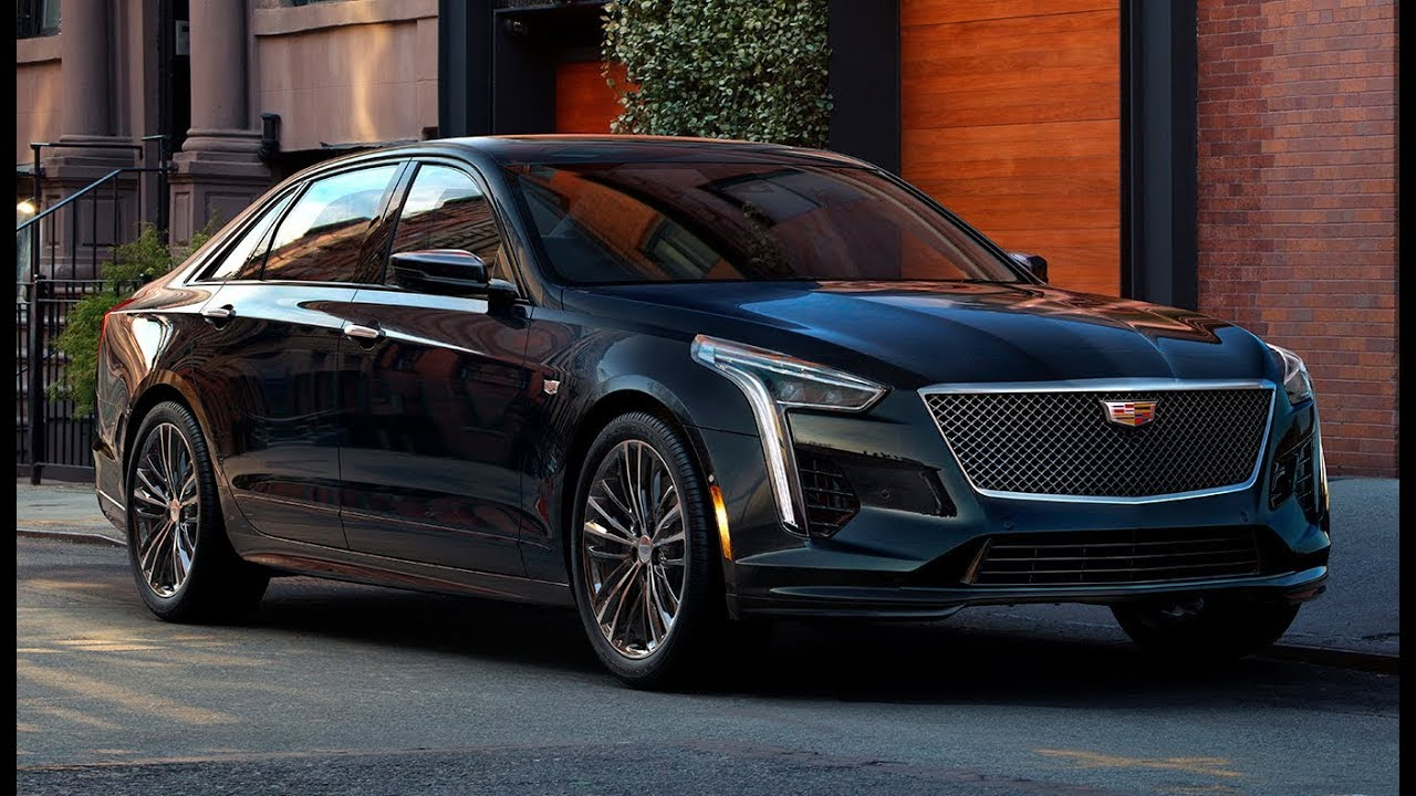 2019 Cadillac Ct6 V Sport New Brand With Twin Turbo V8 550 Hp