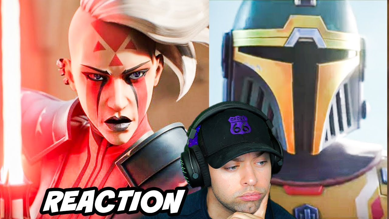 Reacting to the New Star Wars Game Trailer HUNTERS
