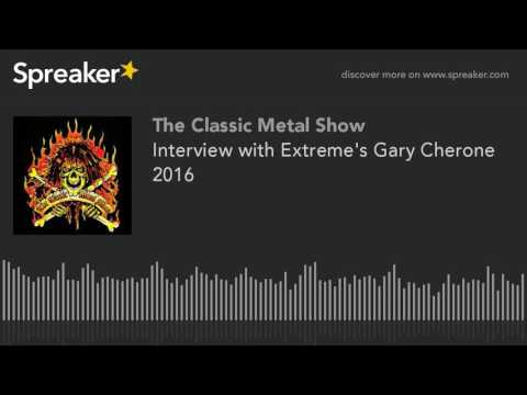 Interview with Extreme's Gary Cherone 2016