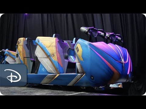 The Theme Park Podcast - Take A Look At The Ride Vehicles For Guardians of the Galaxy: Cosmic Rewind
