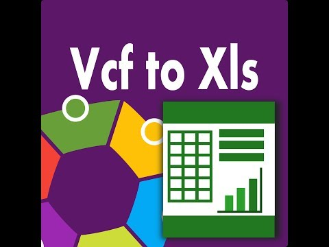 vcf-to-xls