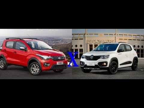Renault Kwid x Fiat Mobi - Qual a melhor compra?