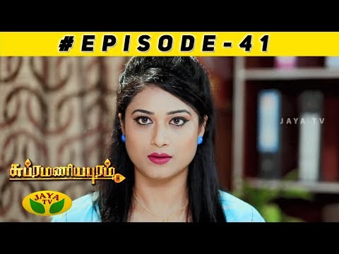 Subramaniyapuram Episode 41 | 13th Dec 2018 | Jaya TV