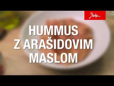 Hummus z arašidovim maslom