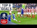 Oscar Curler and Sylvinho Worldie! | Best Brazilian Emirates FA Cup Goals | Top 8
