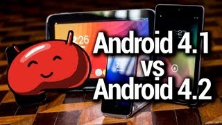 Android 4.1 vs Android 4.2 -- The Jelly Bean Brothers