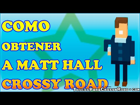 Como Desbloquear a Matt Hall en Crossy Road
