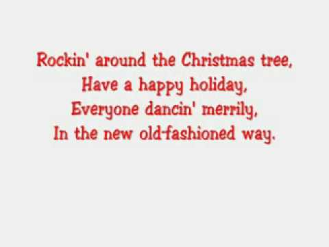 Hannah Montana-Rockin Around The Christmas Tree With Lyrics - Hannah Montana-Rockin Around The Christmas Tree With Lyrics - YouTube