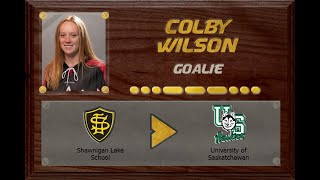 Colby Wilson - CSSHL to USPORT | Stand Out Sports Client Hall of Fame