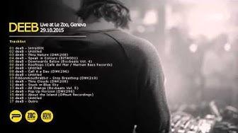 deeB - Live at Le Zoo, Geneve 29.10.2015 (Triphop mix)