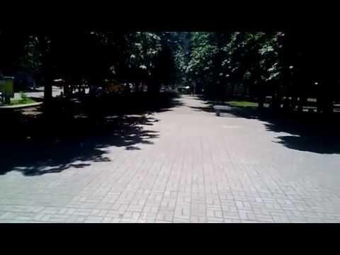 В центре Николаева на...