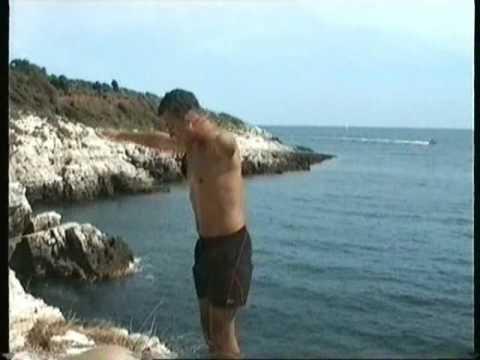 JDD 2007 - Von Jennersdorf nach Kroatien - Cliff Diving