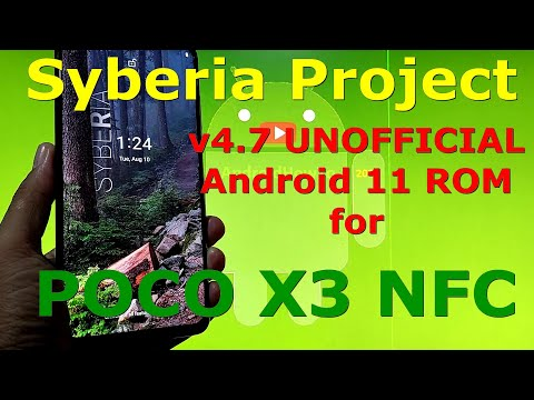 Syberia Project v4.7 for Poco X3 NFC (Surya) Android 11 Update: 20210809