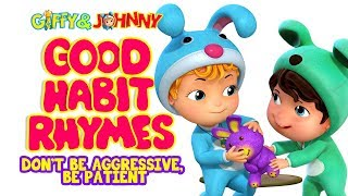 Good Habits Song for Kids | Don't Be Aggressive | Infobells