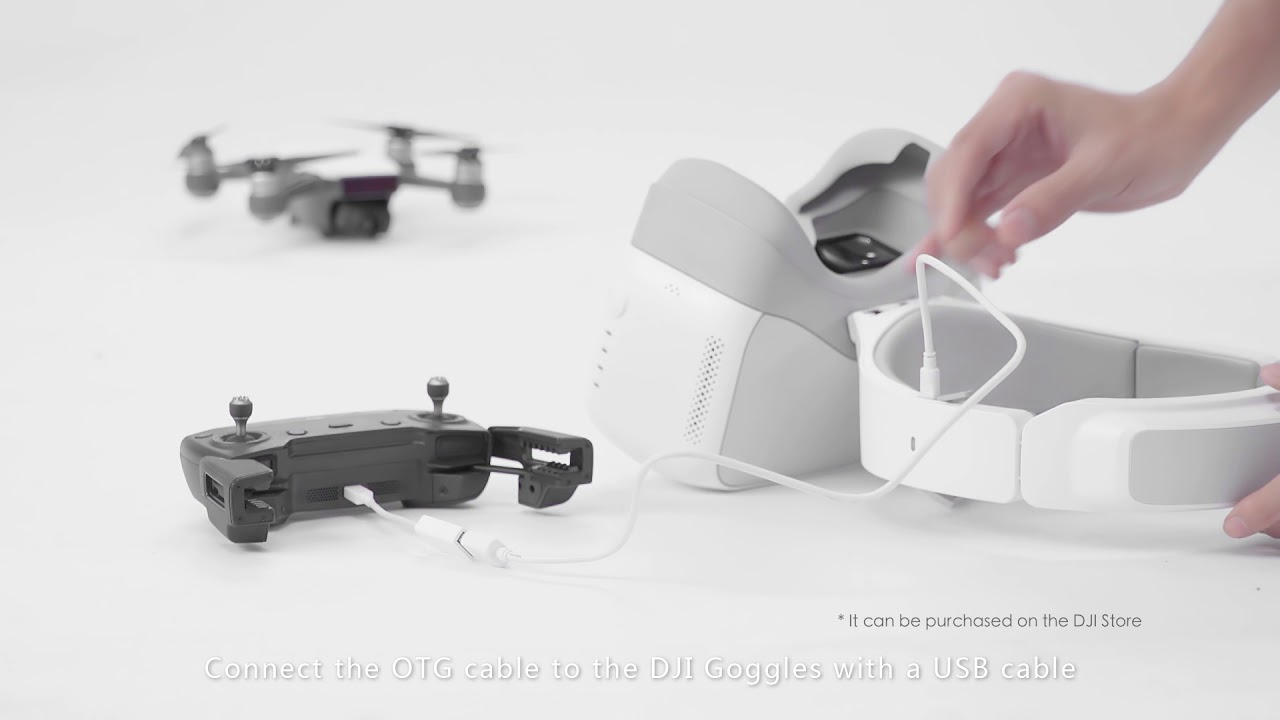 How to Connect DJI Goggles to the Aircraft