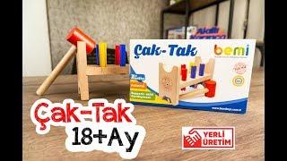 Bemi Toys Çak Tak 18 Ay Ve Üzeri Eğlenceli Oyuncak Ahşap Eğitici Oyuncak İnceleme- Akıllı Karınca
