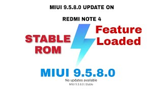 MIUI 9.5.8.0 GLOBAL UPDATE ON REDMI phones| Performance |New Features| India by Mobile Tech Auto