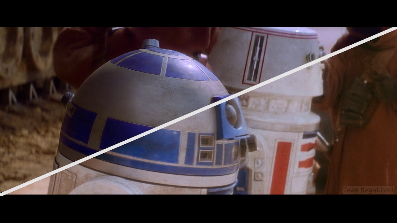 Watch the original Star Wars the way it looked in 1977 - The