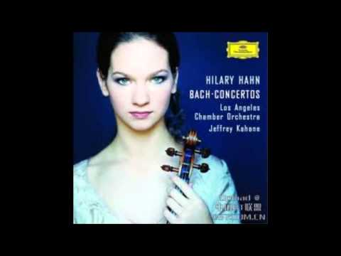 Hilary Hahn - Concerto In D Minor For 2 Violins - 3. Allegro