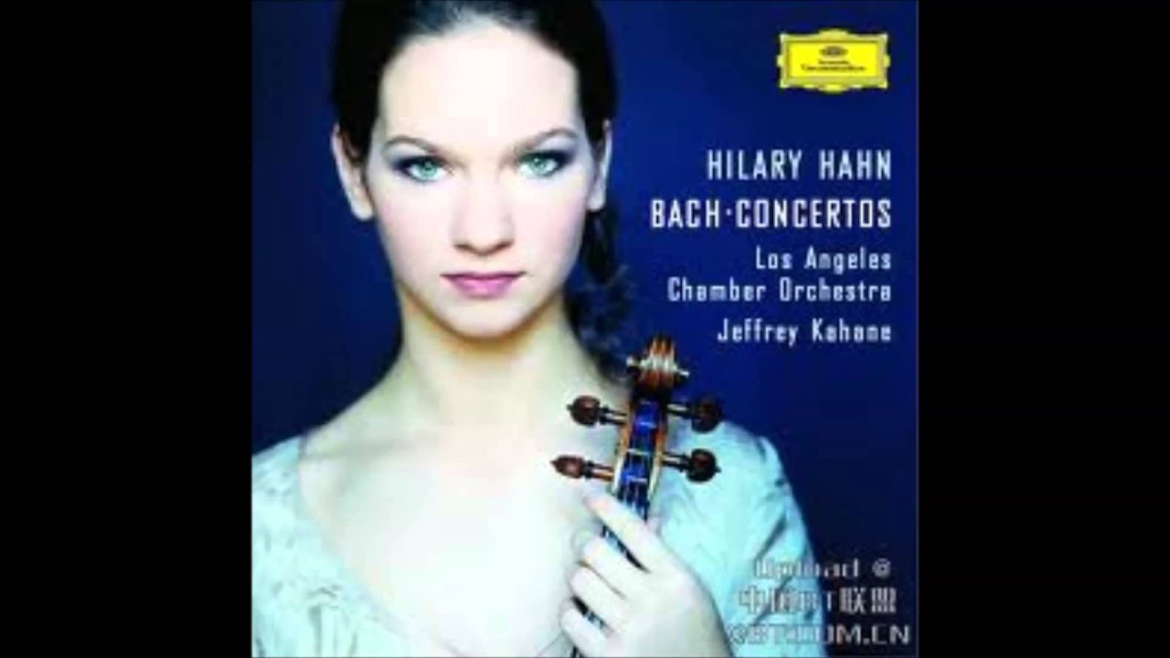 Hilary Hahn - Concerto In D Minor For 2 Violins - 3. Allegro - YouTube