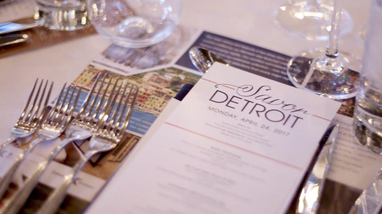 Savor Detroit Spring 2017