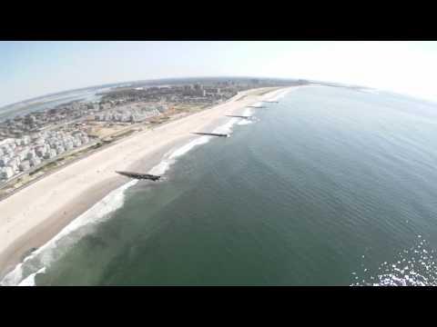 Fly Over Rockaway Beach Long Island, New York July 10, 2011