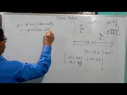 Introduction - Derivation of The Equation of Any Progressive Wave