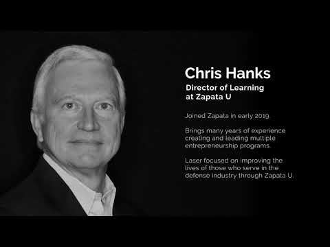 Zapata Technology   Chris Hanks-What is Zapata University? What can it do for me?