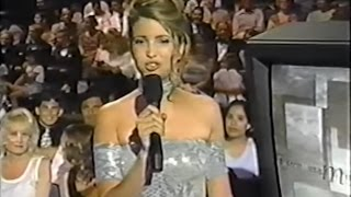 Cringe-Worthy Ivanka Trump Cohosts Miss Teen USA 1997 (Full Screen/Voice Time)