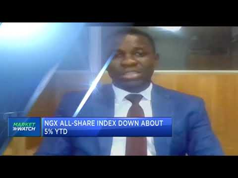 NGX All-Share Index down nearly 4% in May