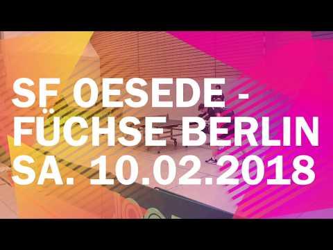 SF Oesede vs. Füchse Berlin | Sa. 10.02.2018 | Regionalliga Nord 2017/2018