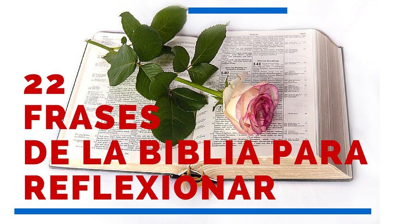22 Frases De La Biblia Para Reflexionar Hermosas Frases De La Biblia Para Reflexion